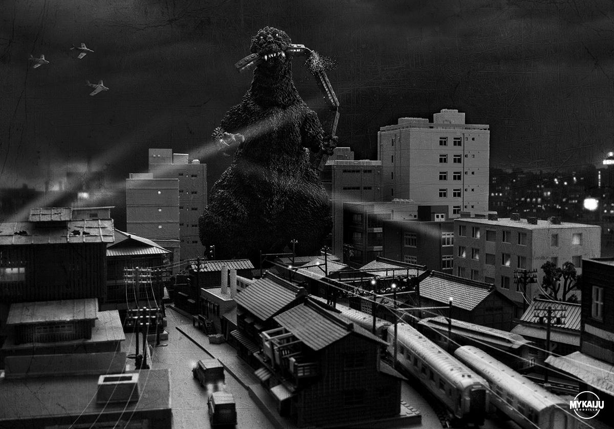 Godzilla 1954 Train Biter (X-Plus 25cm Godzilla 1954)