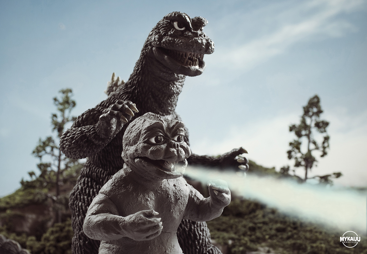 Godzilla's Revenge (X-Plus 25cm)