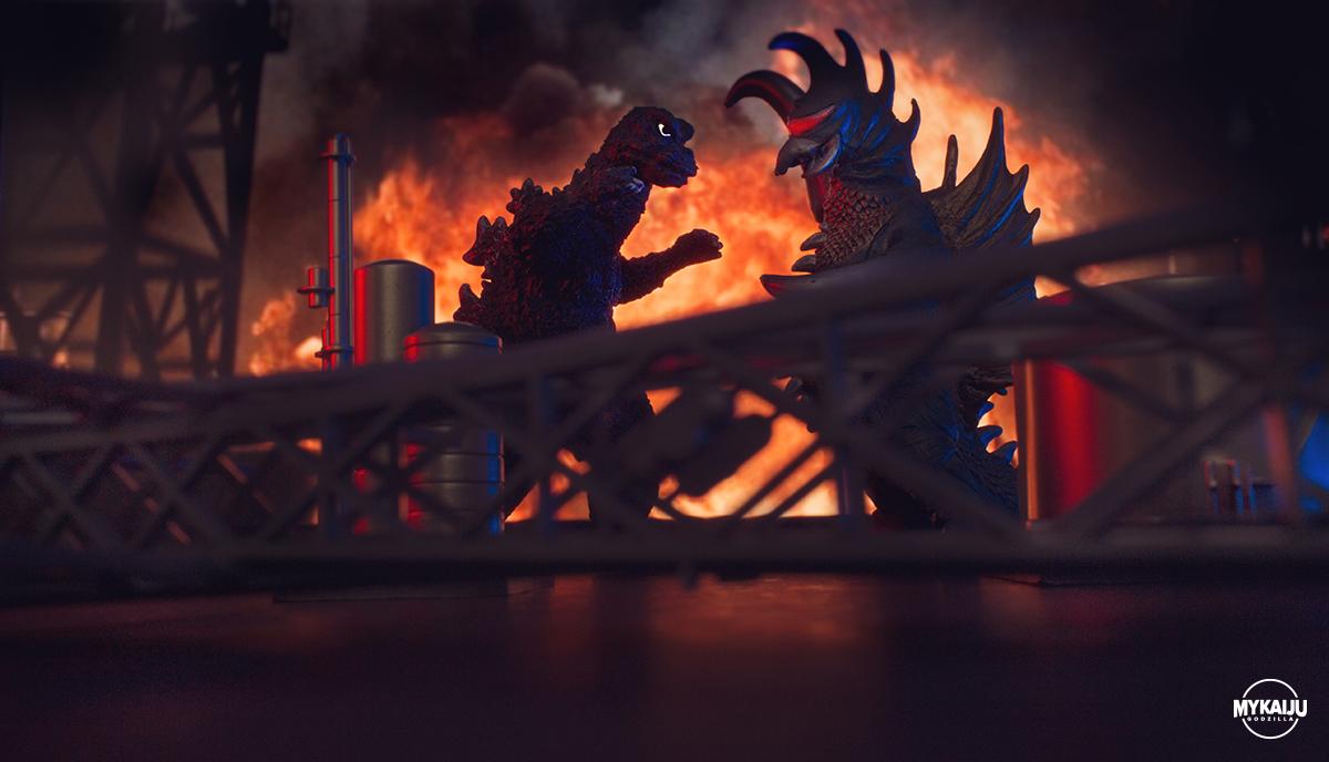 Godzilla vs Gigan (Bandai)
