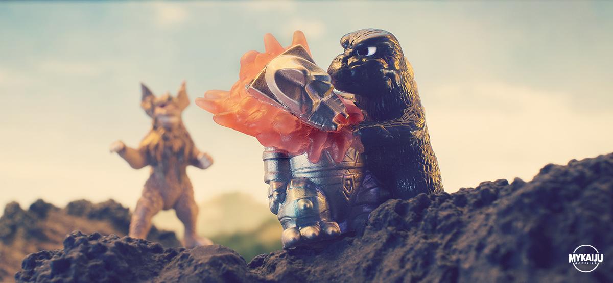 Godzilla vs MechaGodzilla (Bandai)
