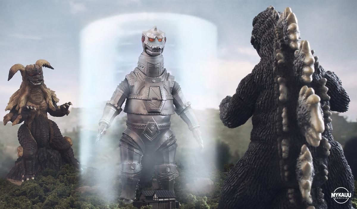 Godzilla vs MechaGodzilla (X-Plus 25cm)