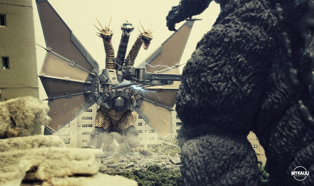Mecha King Ghidorah (SH MonsterArts)