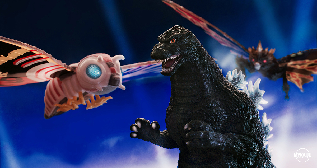 Godzilla 1992, Mothra and Battra (Billiken & Bandai)