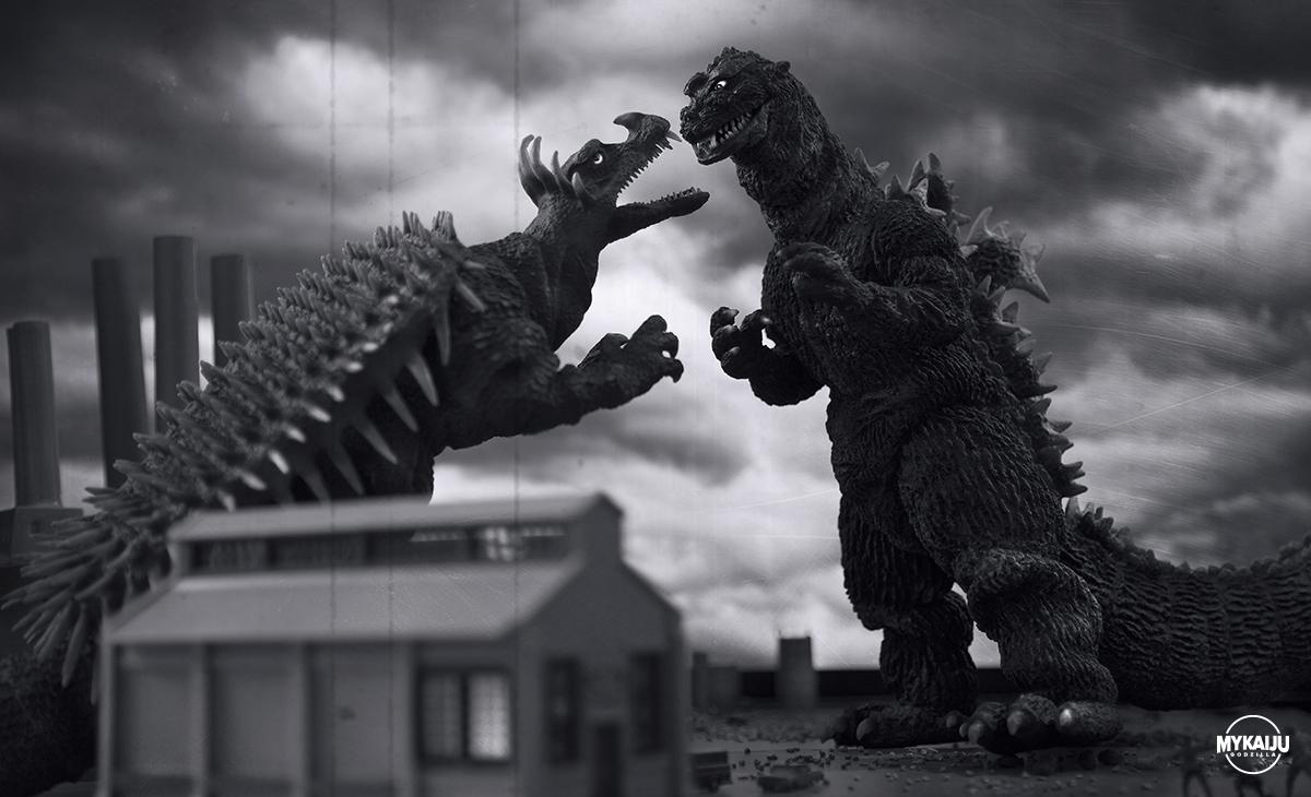Godzilla 1955 (X-Plus 30cm Godzilla & Angilas 1955)