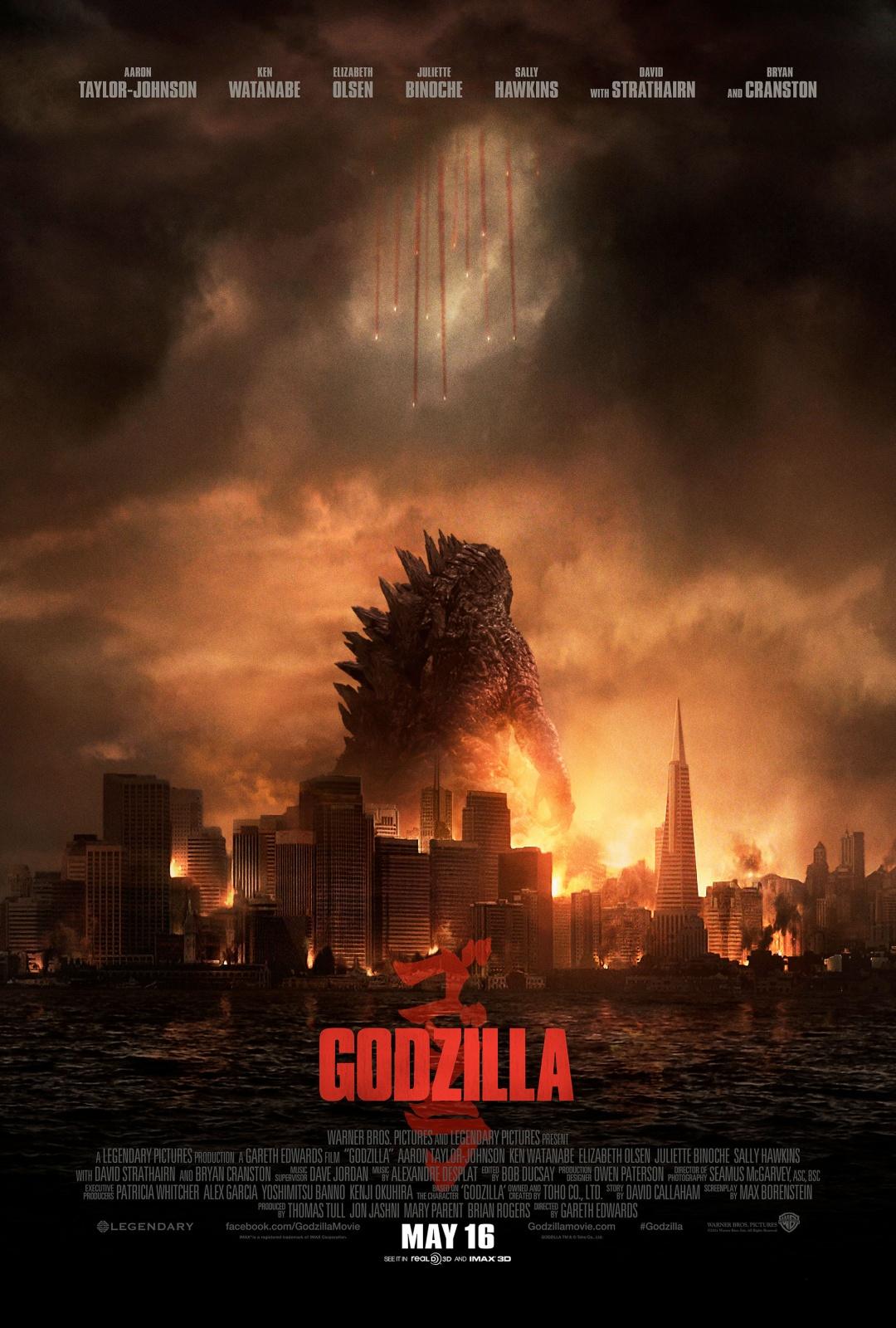 MyKaiju.com Godzilla 2014 Poster