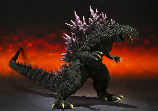 Bandai Tamashii Nations S.H. MonsterArts 2000 Millennium Version Godzilla Action Figure