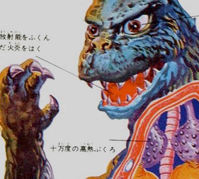 MyKaiju Godzilla   Godzilla Cutaway