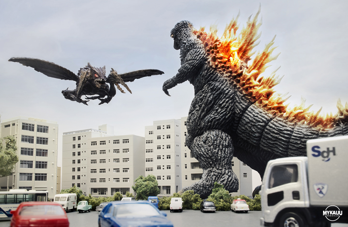 Godzilla vs Megagirasu (X-Plus & Bandai)