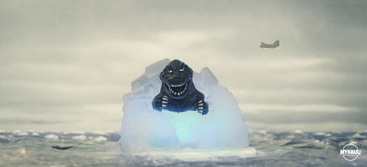 Godzilla 1962 Appears