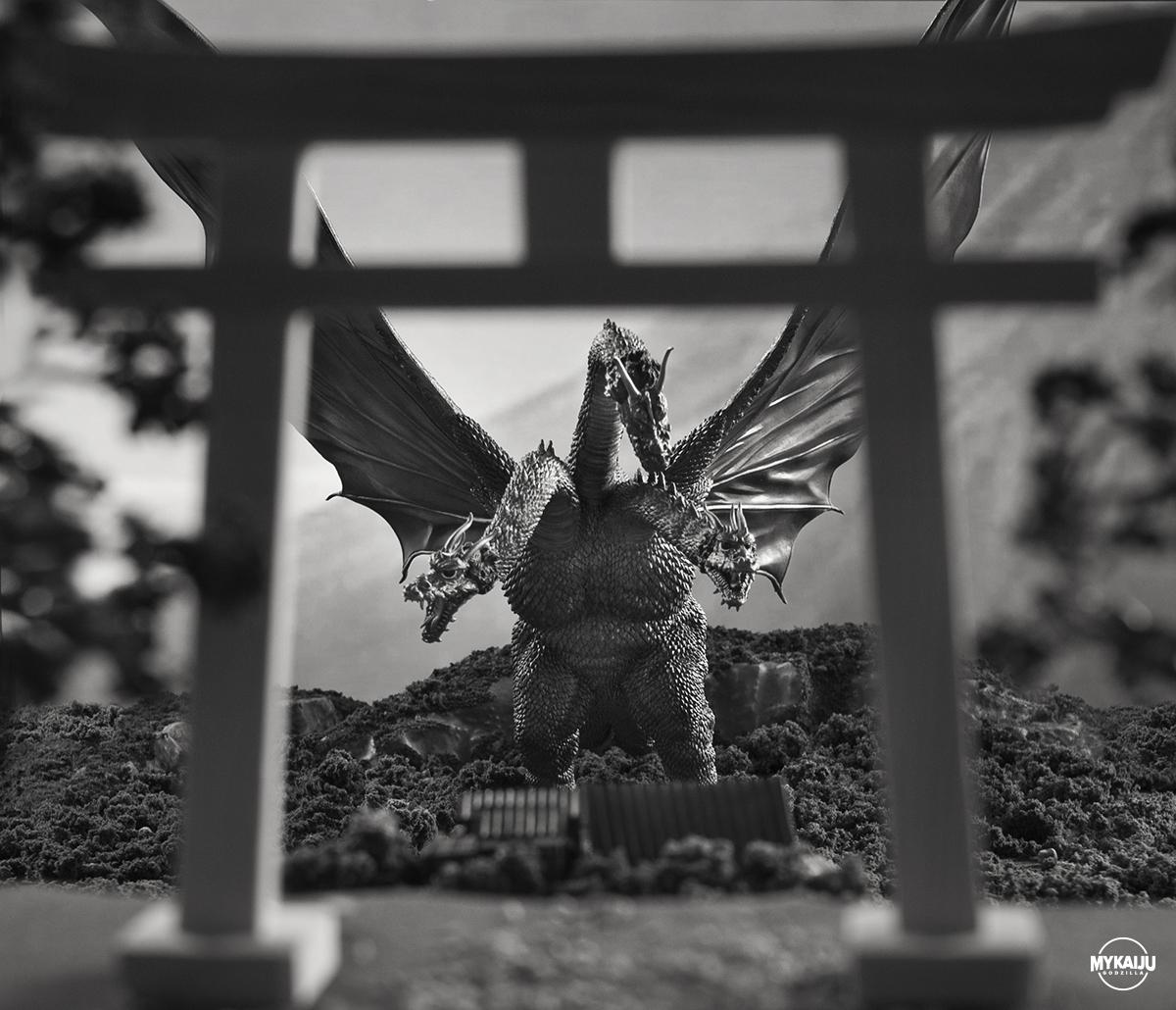 King Ghidorah (X-Plus 25cm King Ghidorah)