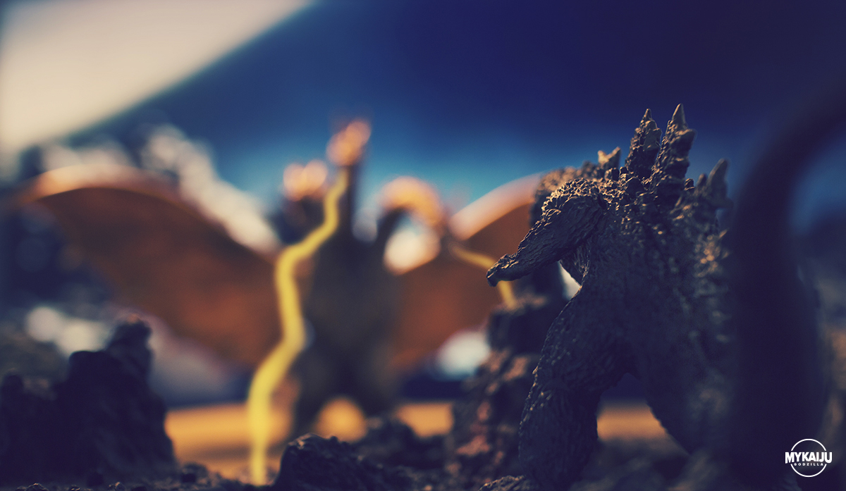 Godzilla on Planet X (Bandai)