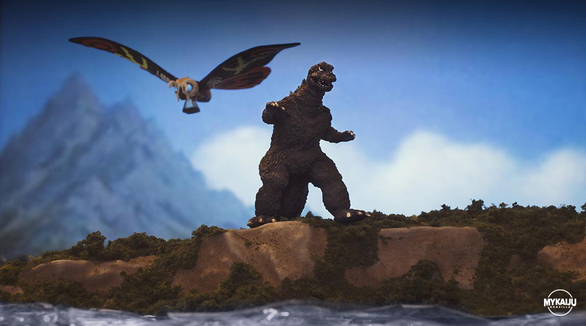Godzilla vs Ebirah (Bandai)