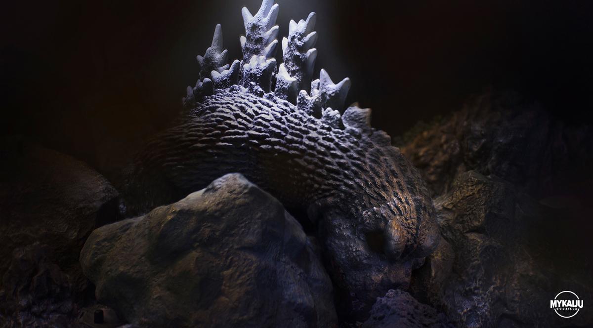 Godzilla vs Ebirah (Billiken Godzilla 1965)