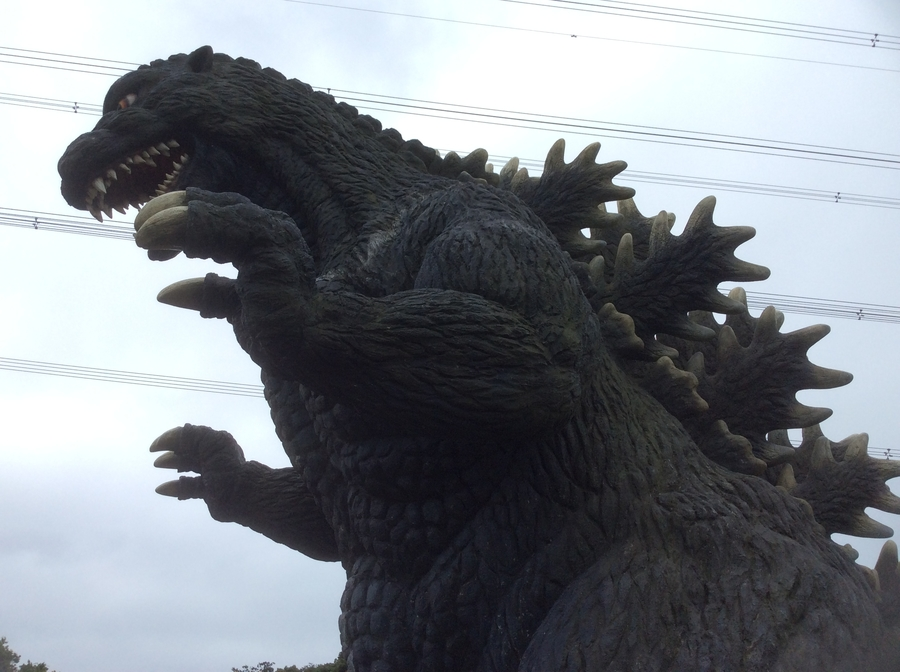 Godzilla at Adventure Land