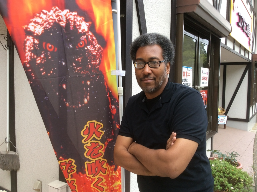 John at Godzilla Slode