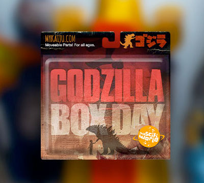 MyKaiju Godzilla   Baby Box Day