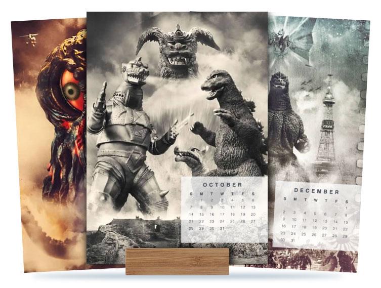 MyKaiju 2018 Easel Calendar