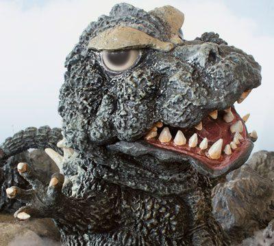 X-Plus Defo Real Godzilla 1964