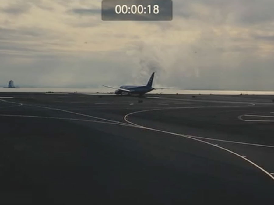 Shin Godzilla Haneda Airport