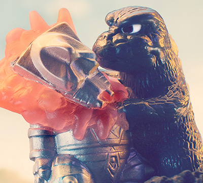 MyKaiju Godzilla | Godzilla defeats Mecha