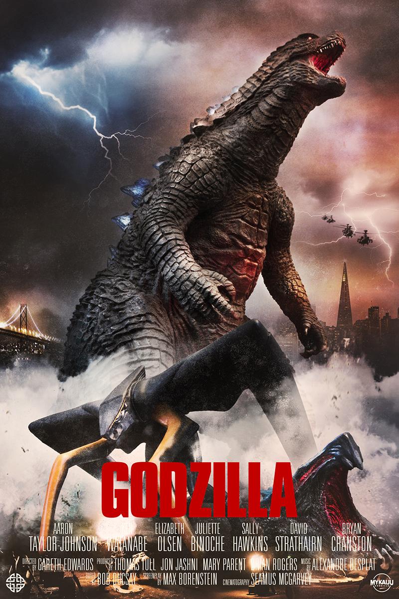 Legendary's Godzilla 2014