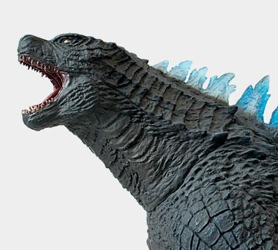 X-Plus Blue Dorsal 30cm Godzilla 2014