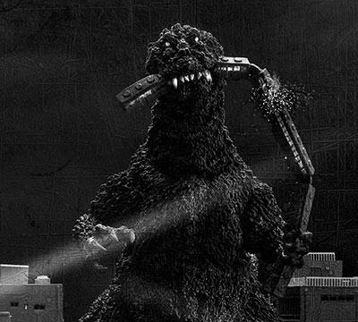 MyKaiju Godzilla | X-Plus Godzilla Train Biter