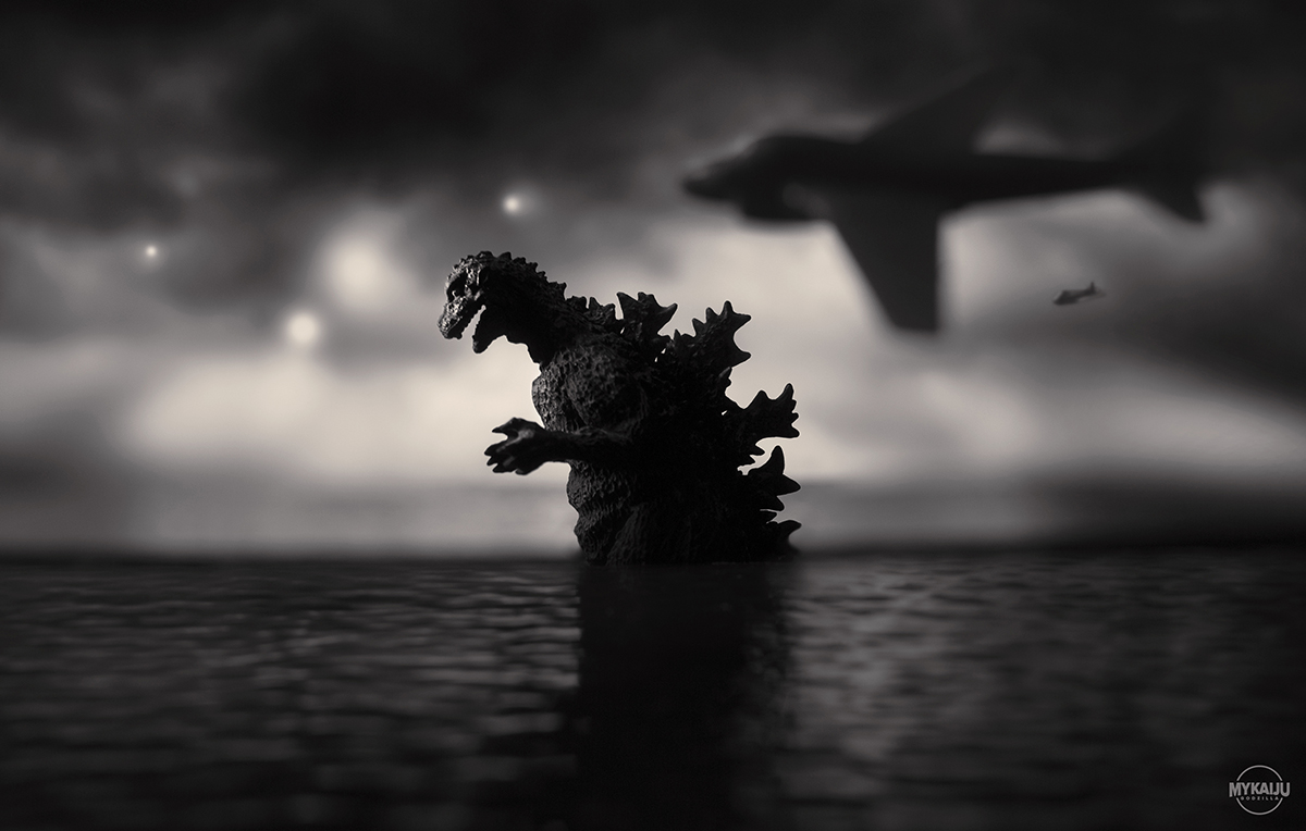 Godzilla at Sea 1954