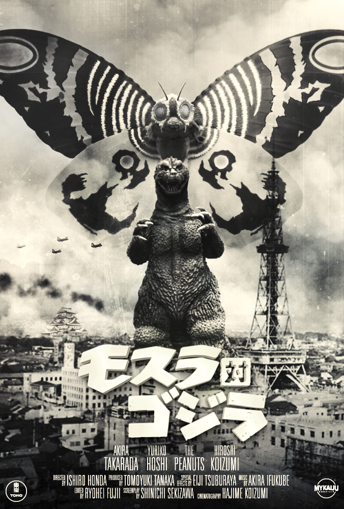 Mothra vs Godzilla 1964