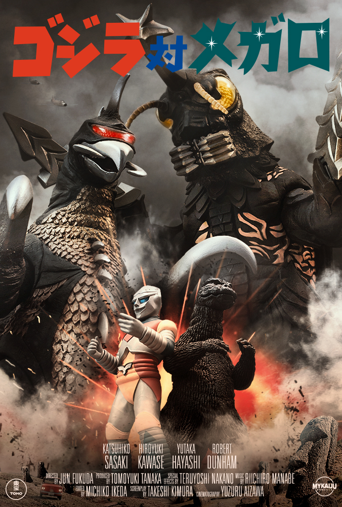 Godzilla vs Megalo 1973