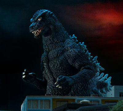 MyKaiju Godzilla | Godzilla in the night
