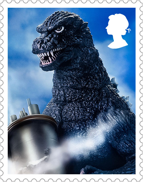 Godzilla 1984 Stamp