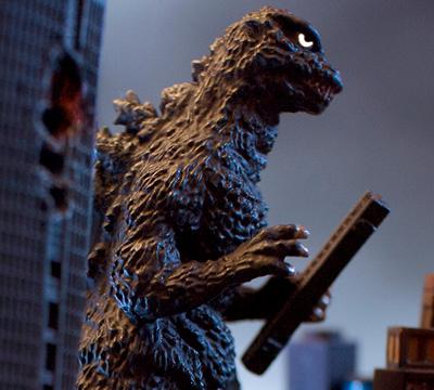 MyKaiju Godzilla | Godzilla at Wako Clock