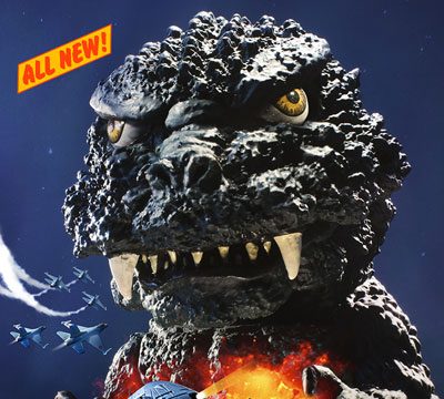 X-Plus Defo Real Godzilla 1984 comic book