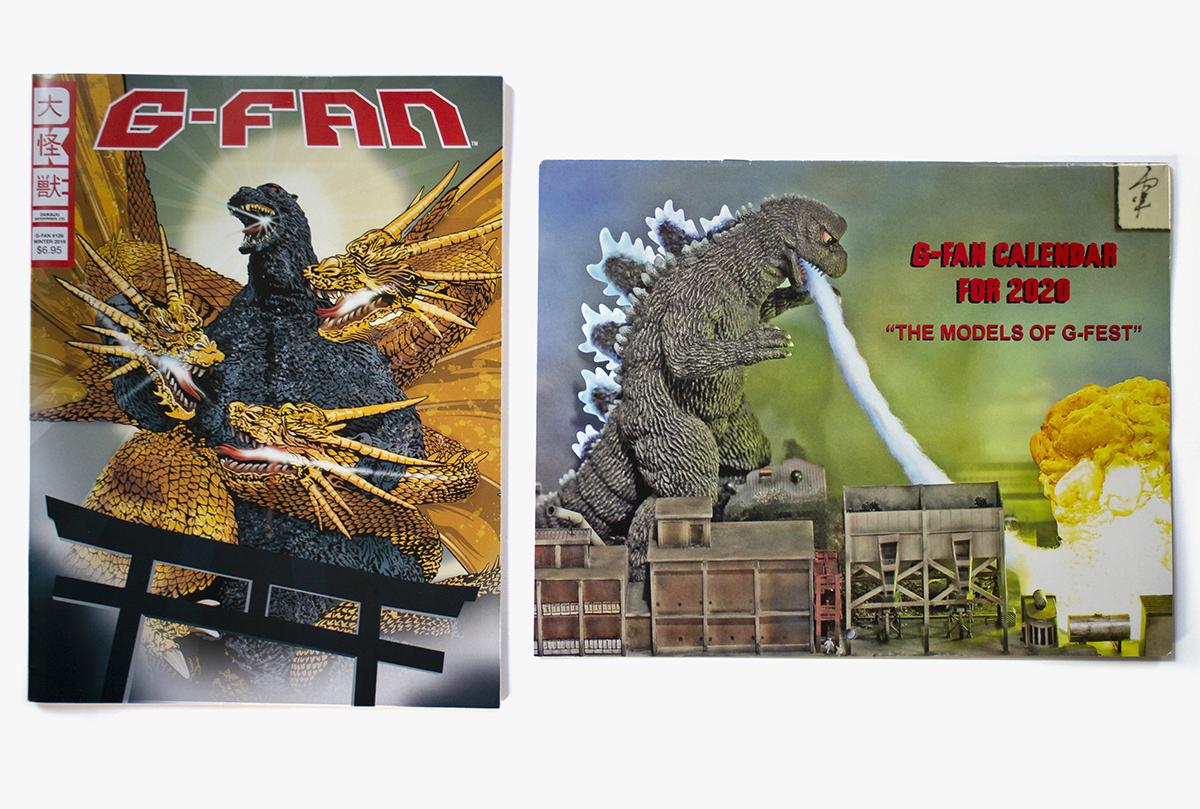 G-Fan 126 Cover & Calendar