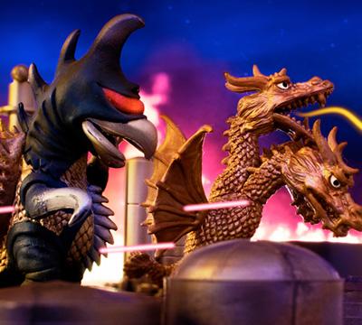 MyKaiju Godzilla   Gigan and King Ghidorah
