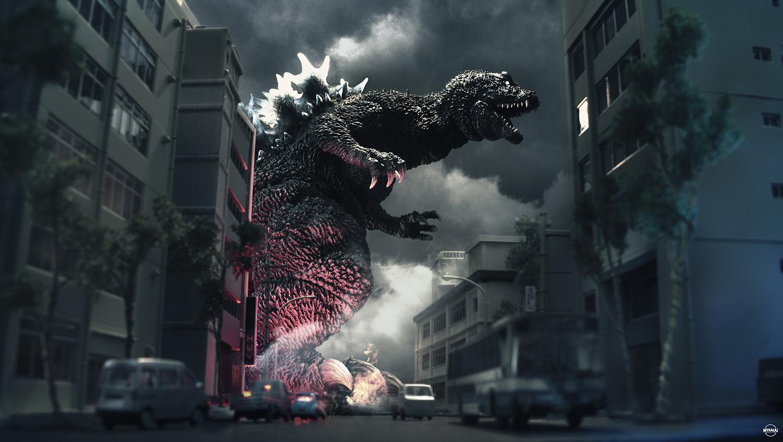 X-Plus Gigantic Godzilla 2001