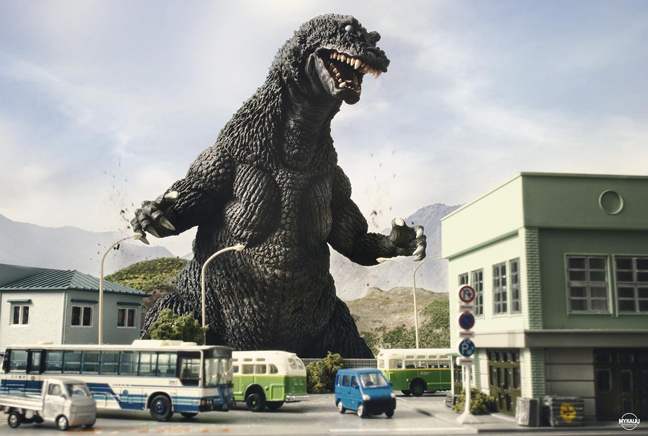X-Plus Favorite Sculptors Line Godzilla GMK
