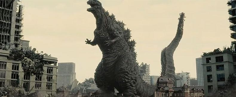 Shin Godzilla Like a Mandala