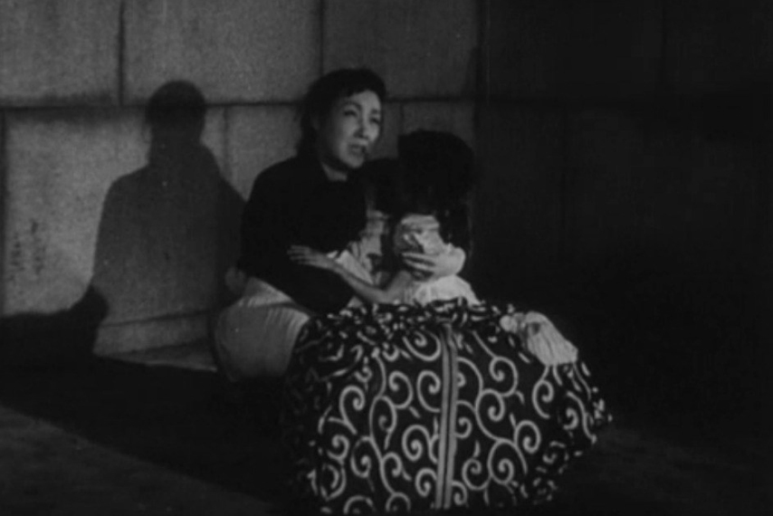 Godzilla 1954 Mother and child