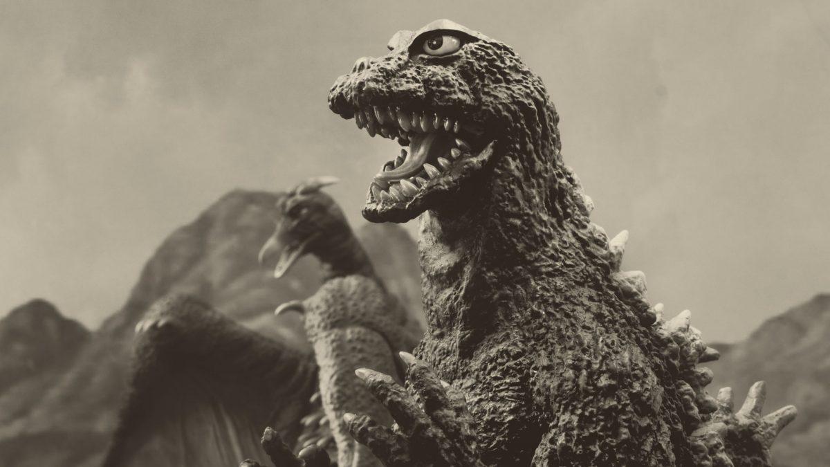 X-Plus FSL Godzilla and 25cm Rodan