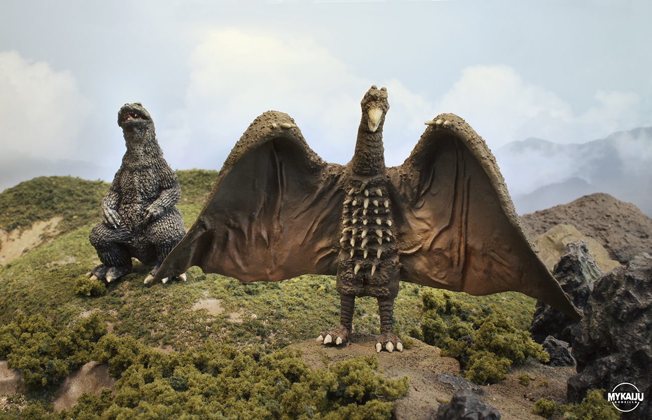 Godzilla and Rodan (Iwakura Cast)