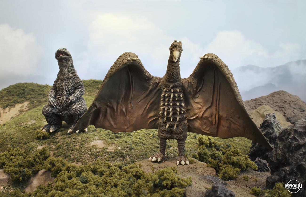 Godzilla and Rodan (Iwakura Cast)