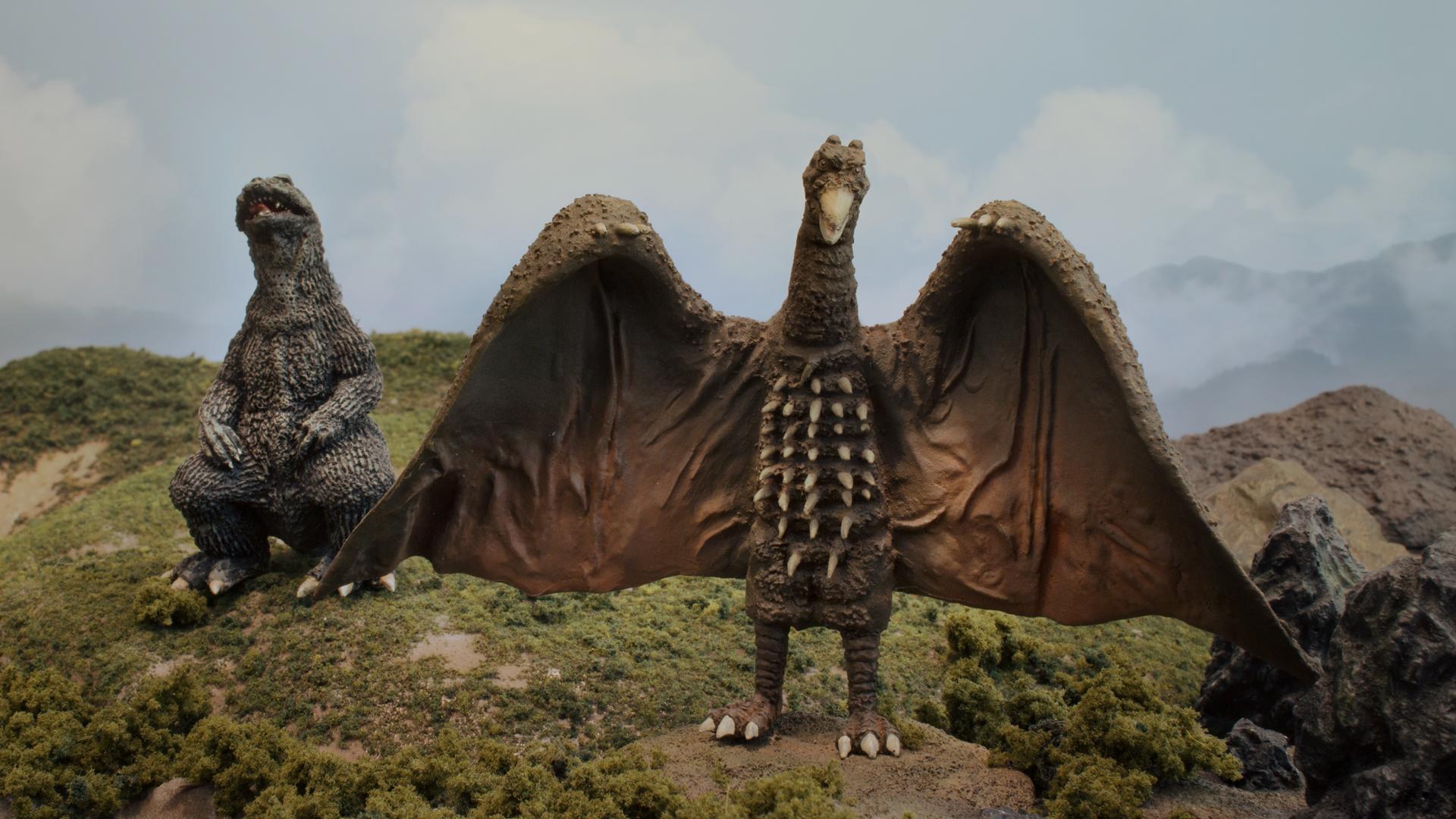 Godzilla and Rodan