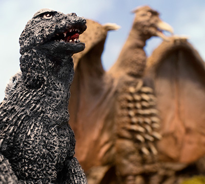 MyKaiju Godzilla | Godzilla and Rodan