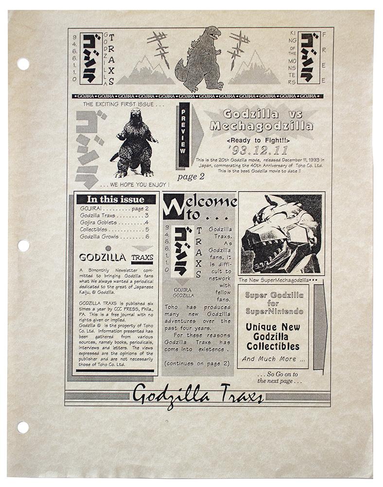 Godzilla Traxs