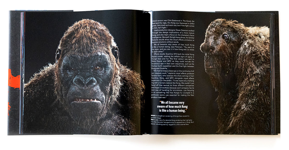 Godzilla vs Kong: The Art of the Ultimate Battle Royale