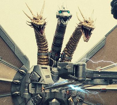 MyKaiju Godzilla | Godzilla vs Mecha Ghidorah