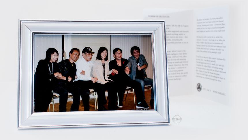 Haruo Nakajima group photo