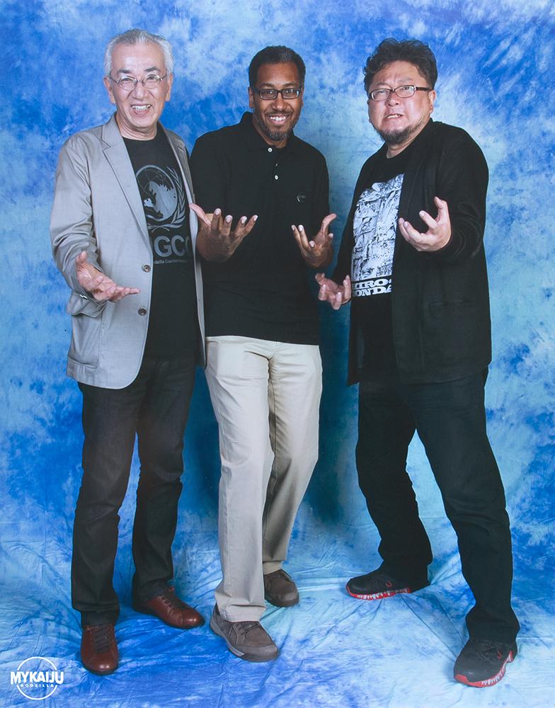 Director Shinji Higuchi and Cinematography Keiichi Sakurai and John Ruffin
